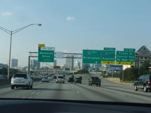 Drive thru Atlanta